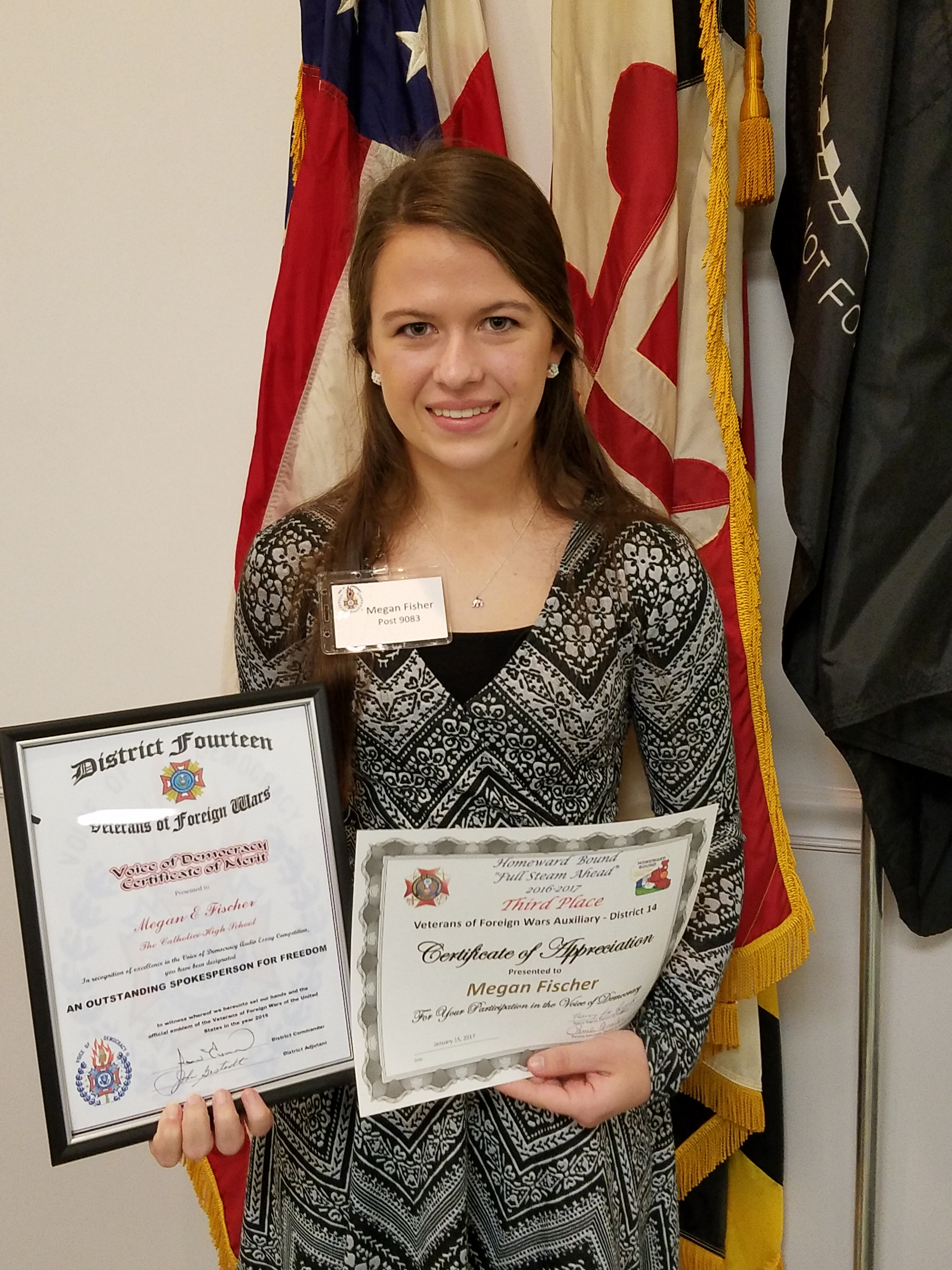 """vfw patriotic audio essay competition The word out about these programs and also promotes the vfw and the vfw auxiliary  continuing education scholarship and the young american creative patriotic art contest all forms needed for these scholarships are included for easy accessibility and  the theme for the 2018-2019 voice of democracy audio-essay contest is """"why my vote."""